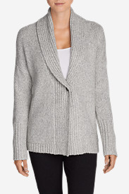 Women's Ribbed Sleep Cardigan Sweater