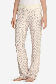 Women's Stine's Knit Sleep Pants - Print
