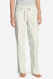 White Petite Pajamas for Women: Women's Stine's Favorite Flannel Sleep Pants