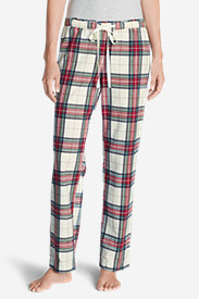 Green Petite Pajamas for Women: Women's Stine's Favorite Flannel Sleep Pants