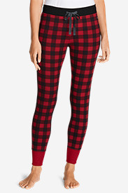Women's Stine's Favorite Waffle Buffalo Check Sleep Pant