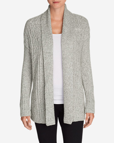 Cotton Cardigans for Women: Women's Cable Sleep Cardigan