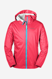 Red Jackets: Girls' Cloud Cap Rain Jacket