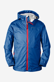 Blue Jackets: Boys' Cloud Cap Rain Jacket