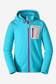 Blue Jackets: Girls' Cloud Layer Hoodie