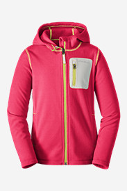 Insulated Jackets: Girls' Cloud Layer Hoodie