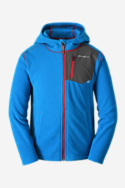 Blue Jackets: Boys' Cloud Layer Hoodie