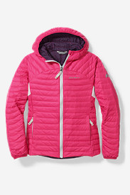Girls' MicroTherm Hooded Jacket