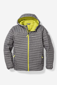 Boys' MicroTherm Hooded Jacket