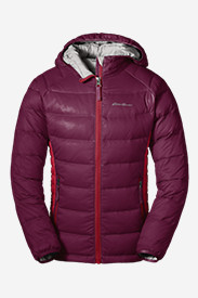 Red Jackets: Girls' Downlight Hooded Jacket