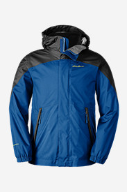 Blue Jackets: Boys' Powder Search 3-In-1 Jacket