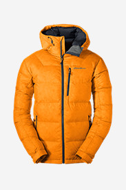 Orange Jackets for Men: Men's DownLight Alpine Jacket