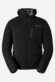 Water Resistant Jackets: Men's IgniteLite Flux Hooded Jacket