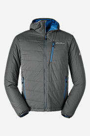 Hiking Jackets: Men's IgniteLite Flux Hooded Jacket