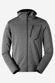 Insulated Jackets: Men's High Route Fleece Hoodie