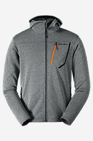 Hiking Jackets: Men's High Route Fleece Hoodie