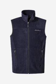 Polyester Vests for Men: Men's Quest 200 Fleece Vest