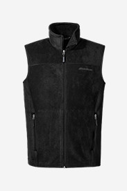 Black Vests: Men's Quest 200 Fleece Vest