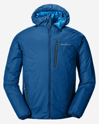 Men's Ever Therm Down Hooded Jacket by Eddie Bauer