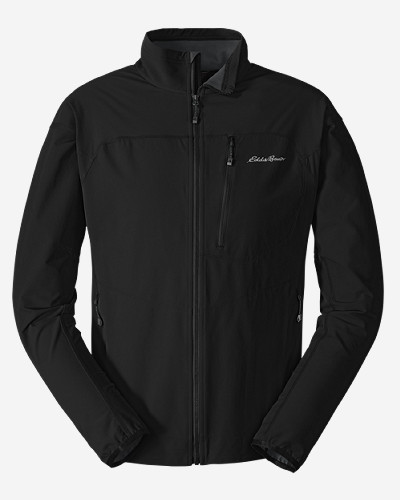 Black Jackets for Men: Men's Sandstone Soft Shell Jacket