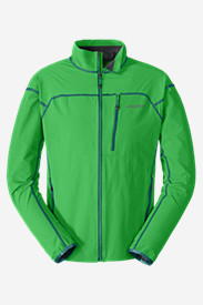Green Jackets for Men: Men's Sandstone Soft Shell Jacket