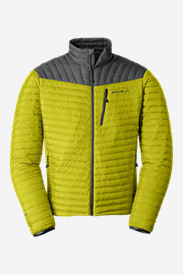 Green Jackets for Men: Men's MicroTherm StormDown Jacket