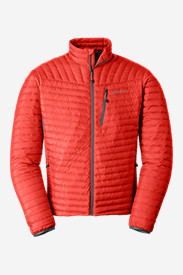 Red Jackets: Men's MicroTherm StormDown Jacket