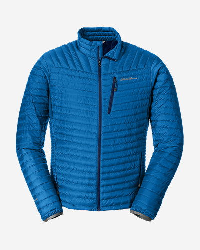 Eddie Bauer Mens Micro Therm Storm Down Jacket (Multi Colors)