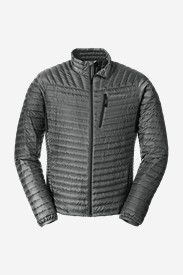 Spandex Jackets for Men: Men's MicroTherm StormDown Jacket