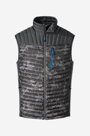 Gray Vests for Men: Men's MicroTherm StormDown Vest