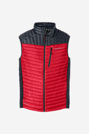Red Vests: Men's MicroTherm® StormDown® Vest