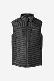 Black Vests: Men's MicroTherm StormDown Vest