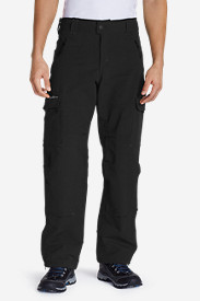 Polyester Cargo Pants for Men: Men's Nail Driver Soft Shell Pants