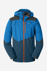 Water Resistant Jackets for Men: Men's Telemetry Freeride Jacket