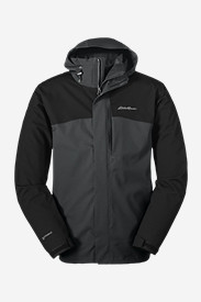 Water Resistant Jackets: Men's All-Mountain 3-in-1 Jacket