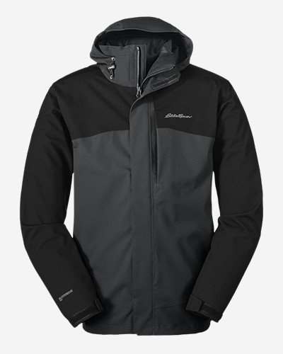 Water Resistant Jackets for Men: Men's All-Mountain 3-in-1 Jacket