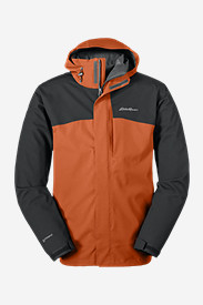 Orange Jackets for Men: Men's All-Mountain 3-in-1 Jacket