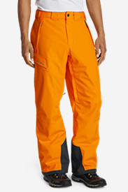 Orange Cargo Pants for Men: Men's Powder Search Insulated Pants