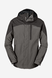 Water Resistant Jackets for Men: Men's Powder Search 3-In-1 Jacket