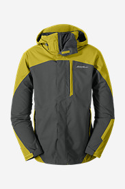 Big & Tall Jackets for Men: Men's Powder Search 3-In-1 Jacket