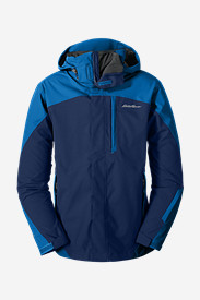 Blue Jackets: Men's Powder Search 3-In-1 Jacket