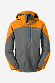 Orange Jackets for Men: Men's Powder Search 3-In-1 Jacket