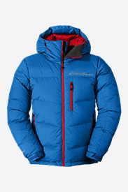 Blue Jackets: Peak XV Down Jacket