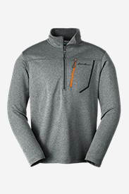 Blue Jackets: Men's High Route Fleece Pullover