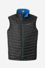 Black Vests: Men's IgniteLite Reversible Vest