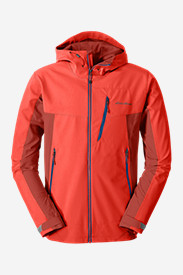 Water Resistant Jackets: Men's Sandstone Shield Hooded Jacket