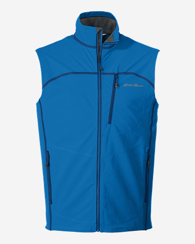 Reflective Vests: Men's Sandstone Soft Shell Vest