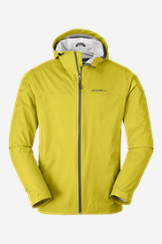 Mens Ski Jackets: Men's Cloud Cap Lightweight Rain Jacket