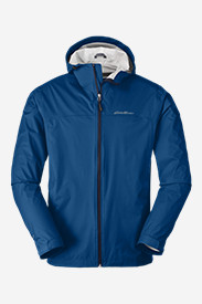 Blue Jackets: Men's Cloud Cap Lightweight Rain Jacket