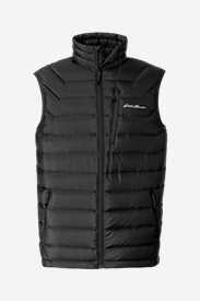Black Vests: Men's Downlight StormDown Vest